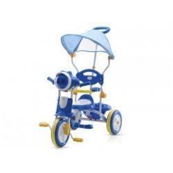 TIMI Tricicleta cu copertina blue Chipolino