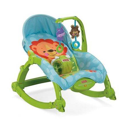Balansoar 2 in1 Deluxe Precious Planet Fisher-Price