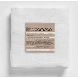 """Muslin din Bambus """"Baby Wash"""" (30x30cm) 6 buc LITTLE BAMBOO"""