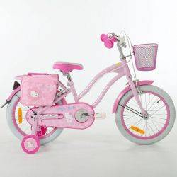 Bicicleta Hello Kitty Cruise Flowers 16 Ironway
