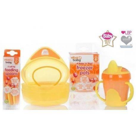 Pachet Feeding 6+ Oferta Speciala Vital Baby