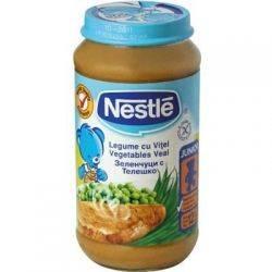 Nestle Piure Legume cu vitel x 200g