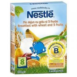 Cereale Nestle mic dejun grau 5 fructe x 250g