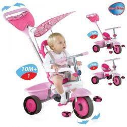 Tricicleta Smart Trike Fresh Pink/White