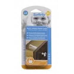 Protectie pentru sertare 4 buc Safety 1st