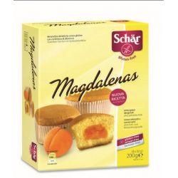 Magdalenas Merendine cu gem de caise, fara gluten 200g Dr.Schar