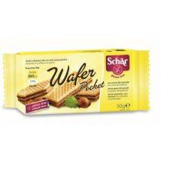 Wafer Pocket Napolitane cu alune fara gluten x 50g Dr. Schar