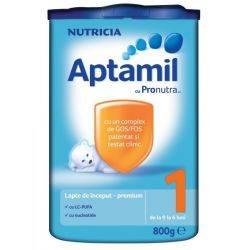 Lapte praf Nutricia Aptamil 1 X 800g