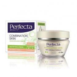 Perfecta Crema matifianta antirid zi/noapte pentru ten mixt 35+, 50 ml