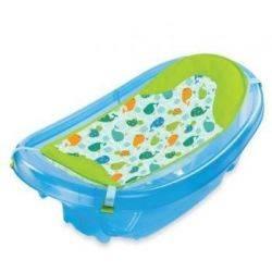 Summer Infant Set cadita si suport de baita Sparkle and Splash Blue