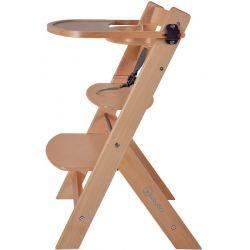 Tavita pentru Scaun de masa din lemn Natural BabyGo