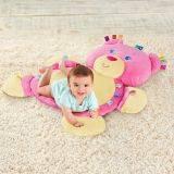 Taggies - Salteluta interactiva Cuibul Snuggles-Ursulet roz
