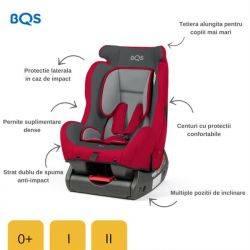 Scaun auto 0-25 Evolusion Red BQS