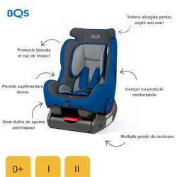 Scaun auto 0-25 Evolusion Blue BQS