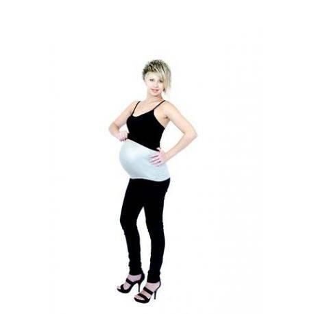 Banda anti radiatii pentru gravide - gri/argintiu