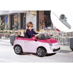 Fiat 500 Pink/Fucsia - Telecomanda Peg Perego