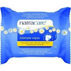 Servetele umede pentru igiena intima x 12buc - Natracare