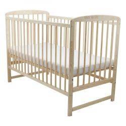 Patut din lemn Ola 120X60 cm Natur BabyNeeds