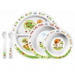 Set pentru masa copilului SCF716/00 +6luni Philips AVENT