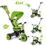 Tricicleta Baby Trike 4 in1 Dino Green Baby Trike