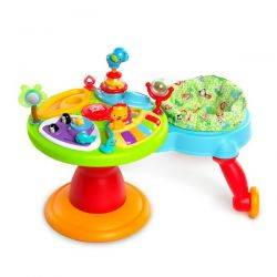 Centru de activitati 3-in-1 Around We Go Zippity Zoo - Bright Starts