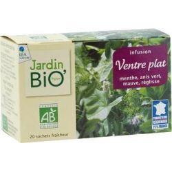 Ceai din plante Abdomen plat bio (20 plicuri) 30g JardinBio