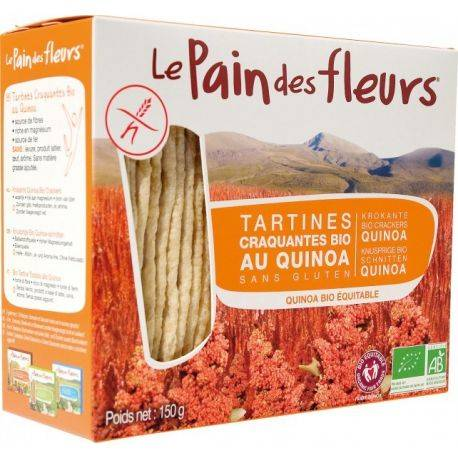 Le Pain des Fleurs Tartine crocante cu quinoa bio x 150g