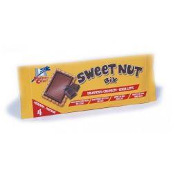 Biscuiti Sweet Nut bio din spelta si ciocolata x 112g (4x28g)