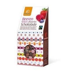 Fructe de padure in mix de ciocolata bio x 90g Landgarten