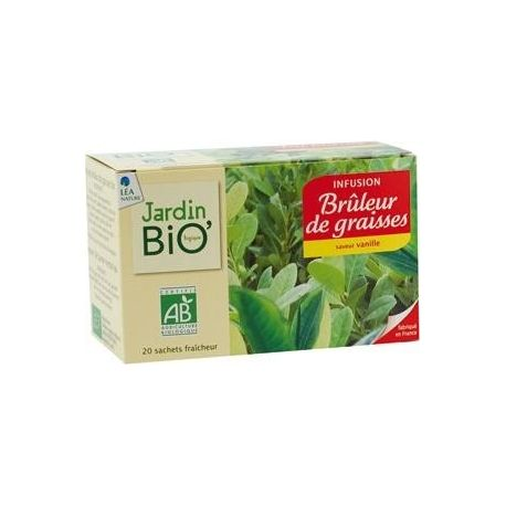 Ceai din plante: Ardere grasimi bio (20 plicuri) x 30g JardinBio