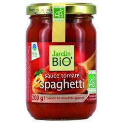 Sos rosii pentru spaghete bio x 200g JardinBio