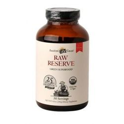 Bautura din iarba de grau Raw Probiotic Amazing Grass, 30 portii