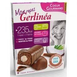 Batoane Ciocolata cu umplutura Aroma de Cocos x 372g (12x31g) Gerlinea