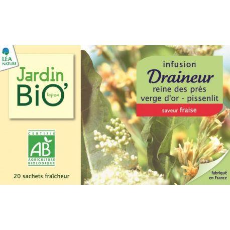 Ceai din plante: Drenare bio (20 plicuri) x 30g JardinBio