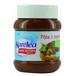 Pasta alune si cacao fara adaos de zahar si ulei de palmier x 400g Karelea