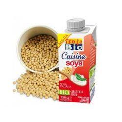 Crema bio din soia pentru gatit fara gluten, fara lactoza x 200ml Isola Bio