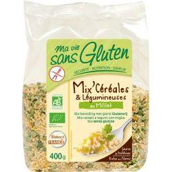 Mix cereale si mei fara gluten bio x 400g Ma vie sans gluten