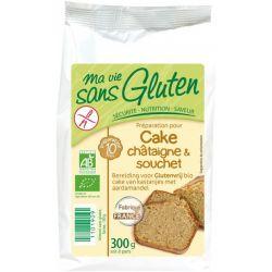 Preparat pentru prajitura cu castane souchet fara gluten bio x 300g Ma vie sans gluten