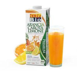 Bautura bio de portocale, morcovi si lamaie x 1l Isola Bio