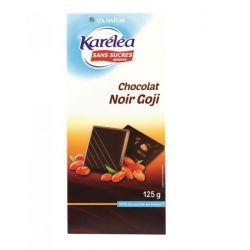 Ciocolata neagra cu goji x 125g Karelea