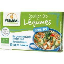 Supa de legume fara sare (cuburi de supa deshidratata) bio x 80g Primeal