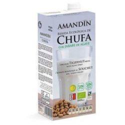 Bautura vegetala de TigerNut cu Agave bio x 1L Amandin
