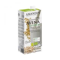Bautura vegetala de Ovaz cu Calciu bio x 1L Amandin