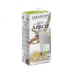 Bautura vegetala de Orez bio fara gluten x 1L Amandin