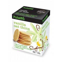 Biscuiti vegani fara gluten din ovaz cu vanilie x 150g Pulsetta