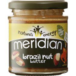 Unt de nuci braziliene natural x 170g Meridian