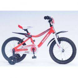 Bicicleta copii Kawasaki Krunch red 16 Ironway