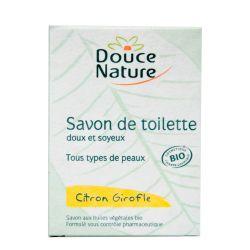 Sapun de toaleta cu lamaie si cuisoare x 100g Douce Nature