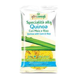 Fusilli fara gluten cu quinoa, porumb, orez x 250g Altricereali