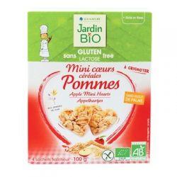 Mini cereale cu mere (fara gluten) 4x25g JardinBio